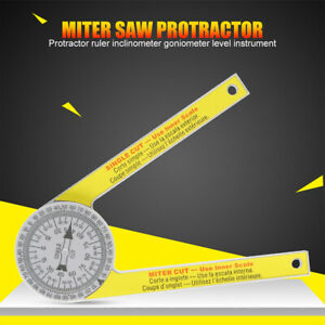 Replaces For Starrett 505p 7 Miter Saw Protractor Dial Accurate Angle Finder Us