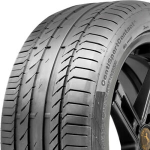 4 Tires Continental Contisportcontact 5 245 50r18 100w Performance