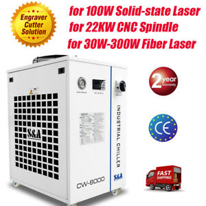 S a Cw 6000dn Water Chiller For Solid state Laser Cnc Spindle Fiber Laser