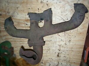 Vintage Fordson Super Major Tractor Engine Exhaust Manifold Needs Repair
