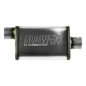Flowmaster Fx Stainless Steel Muffler 3in Offset Inlet 3in Centered Outlet