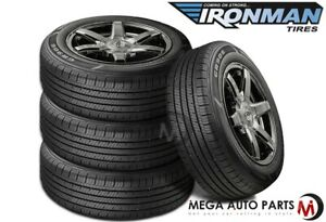 4 Ironman By Hercules Gr906 205 70r15 96h All Season M S Traction Touring Tires