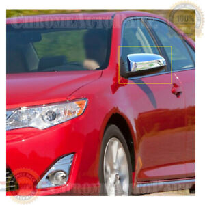 Fit 2012 2017 Toyota Camry Chrome Side Mirror Covers Cover Le Xle Se