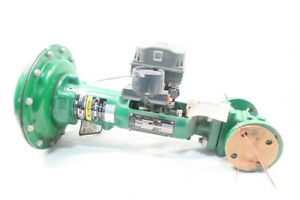 Fisher Type Ez Pneumatic Steel Flanged Control Valve 1in 300