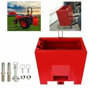 Ballast Box 3 Point Category 1 Tractor And Loader Hitches Powder Heavy duty Lift