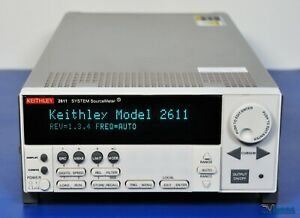 Keithley 2611 Sourcemeter Smu 200v Nist Calibrated With Warranty