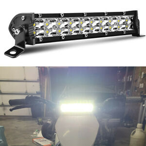 7inch Dual Row Led Motorcycle Front Headlamp Fit For Ttr110 Led Headlight Kit