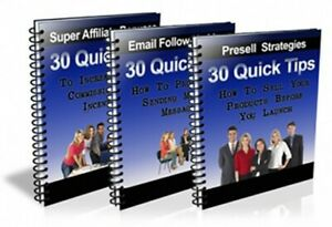 90 Tips For Plr 3 Ebooks In One With Resell Rights And Website