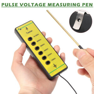 Tension Fence Voltage Tester Electric Farm Rails Poly Wire Ribbon Rope Tool Usa