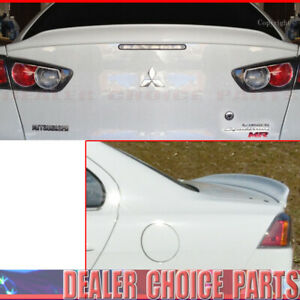 2008 2009 2010 2017 Mitsubishi Lancer Duck Style Spoiler Trunk Wing Unpainted