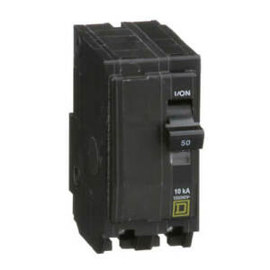 New Square D Qo250 2 pole 50 A Plug in Circuit Breakers New