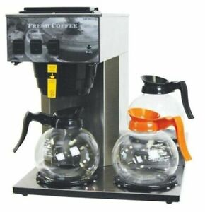 Newco Ak 3 Commercial 3 Warmer Pour Over Coffee Maker Brewer 101879