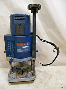 Bosch 1615evs Vintage Variable Speed Router 15 Amp 12 23k Rpm Usa Made As Is
