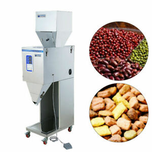 Automaticpowder Particle Filling Machine For Tea seed grain weigh Filler 10 999g