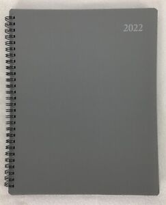 2022 Weekly Monthly Spiral Day Planner Calendar Agenda Appointment Book 8 x10