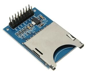 Reading And Writing Module Sd Card Module Slot Socket Reader Arm Mcu For Arduino