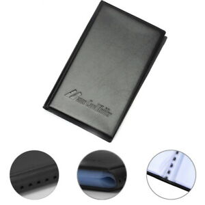 Leatherette Business Credit Card Holder 300 Organizer Name Card Black Xmas Gift