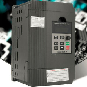 2 2kw 2hp 220v 12a Variable Frequency Drive Inverter Vfd Single To 3 Phase J9m2
