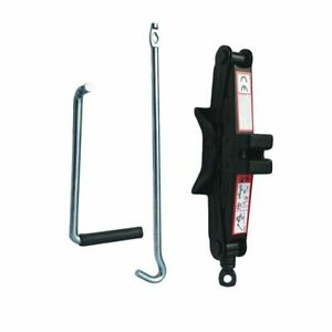 Portable Car Emergency Scissor Jack Lift For Car Van Garage 1 Tons With Wrench