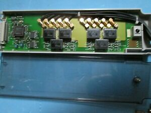 Agilent 34970a Data Acquisition Unit With Dmm Tested Good Bright Display Daq Ni
