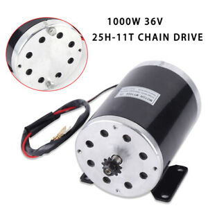 My1020 Electric Brushed Dc Electric Motor 36v Scooter Motor 1000w Heavy Duty New