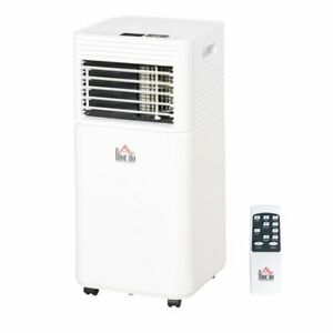 Mobile Air Conditioner 4 Modes 2 Speeds Led Display 24 Timer Home Office Use