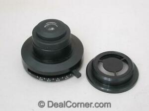 Olympus Microscope Ch2 Condenser With Df Insert
