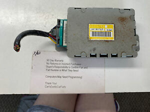 56026769 Jeep Cherokee 4 0l At Transmission Computer Control Module Tcm 92 95