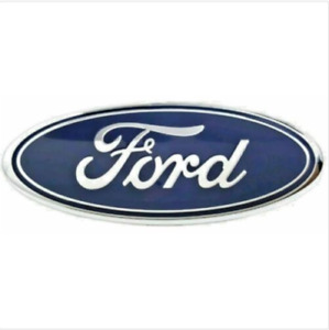 New Ford F 150 2005 2014 Tailgate Or Front Grille 9 Inch Blue Chrome Emblem