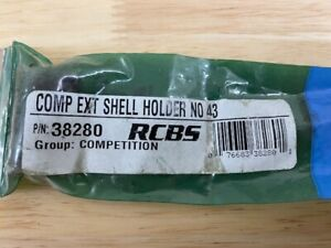 RCBS #43 Competition Extended Shell Holder 38280 Free Shipping $17.00