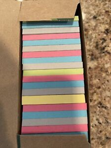 Post it Greener Notes 24 Pads Cabinet Pack Sunwashed Pier Collection 3 X 3