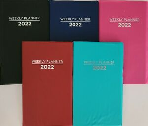 2022 Weekly Pocket Appointment Planner Calendar Day timer 3 8 x6 5 Select Color