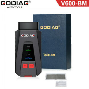Godiag V600 Bm Can Fd J2534 Diagnostic And Programming Tool For Bmw Support Wifi