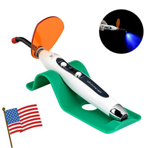 Us Dental Led Curing Light Cure Lamp Led Wireless Cordless Composite Resin 5w
