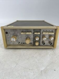 Bk Precision Dynascan 3025 Sweep Function Generator Powers On