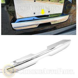 Fits 2007 2014 Chevrolet Suburban 1500 2500 Tahoe Lower Tailgate Chrome Cover
