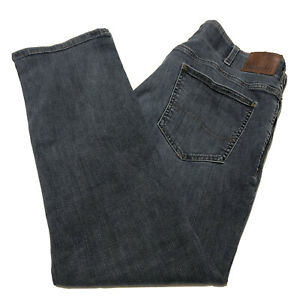 LEE Modern Series Extreme Motion Straight Fit Tapered Leg Men's Blue Jeans 38x30 $16.94
