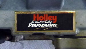 Holley 500 Cfm 2bbl 4412 3 With A Date Code 1150 In Great Condition
