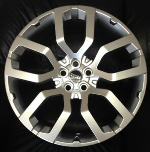 22 Wheels Fit Land Rover Range Rover With Tires Silver Hse Sport Full Size New