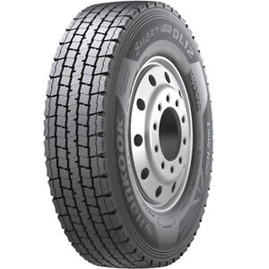 4 Tires Hankook Dl12 11r22 5 Load H 16 Ply Drive Commercial