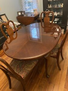 Dining Room Set Table 4 Chairs