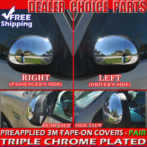 1997 2003 Ford F 150 1997 2002 Expedition Chrome Mirror Covers W O Turn Signal