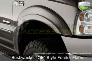 Oe Style 2pc Front Fender Flares Matte Blk For 2002 05 Dodge Ram 1500 2500 3500