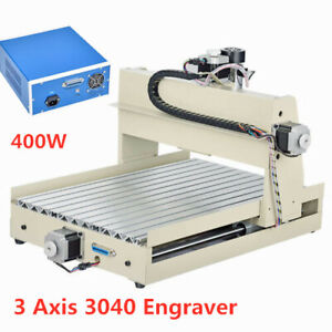 Cnc 3040 Router 3 axis Usb Engraving Milling Cutting Machine 400w Engraver