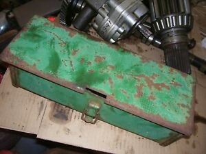 Vintage Oliver 1650 Gas Tractor Tool Box Cover As Is