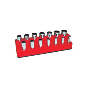 Mechanic S Time Savers 1487 3 8 In Drive 14 Hole Rocket Red Impact Socket Hol