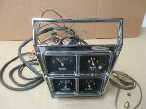 66 Impala Ss 396 427 Console Gauges Plus Wiring Harness