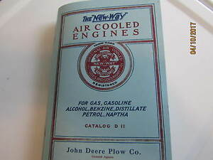 New Way Air Cooled Engines Catalog D 11 Aircooled Vertical Engine