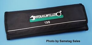 Stahlwille Germany 13 9 Metric Combination Wrench Set With Roll Pouch