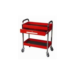 Steel Service Tool Cart With 1 drawer And 2 Shelfs Kti 75105